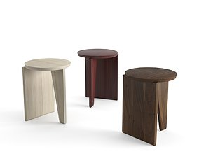 3D model EggCollective Wu Side Table Stool