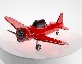 3D model North American T-6 Texan