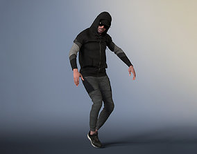 Bruce 20376-09 - Hip Hop Dancer - Animated Model animated