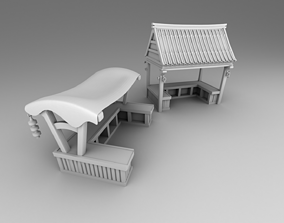Part 3- Chinese traditional house 2-10 3D printable model