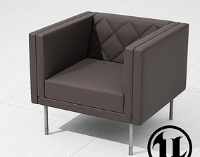 PlusHalle Harlequin Chair seating 3D model