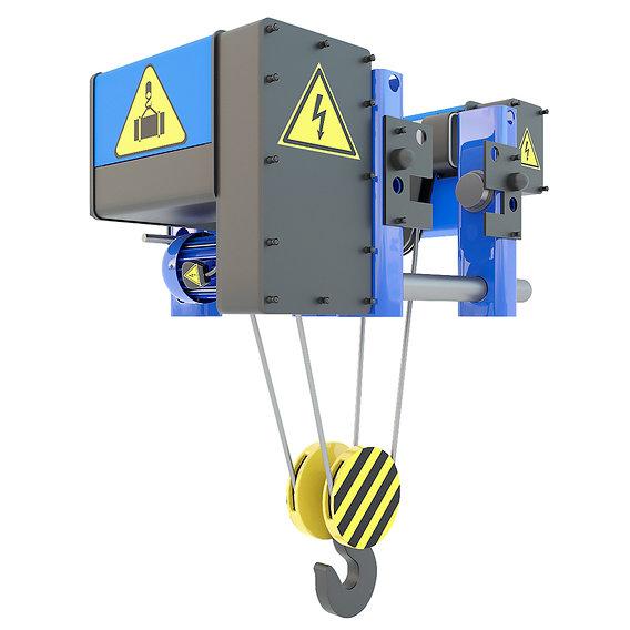 Electric crane hoist
