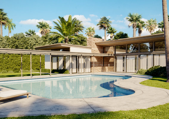 Twin Palms, Frank Sinatra Villa