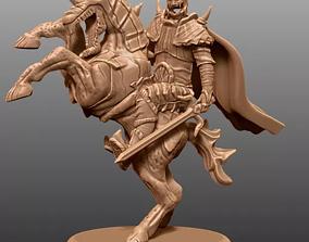 Haunted Horseman 3D Model for 3D Printed CNC Router STL