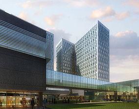 3d model apartment hotels