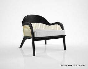 3D model Reda Amalou Design Lanka armchair
