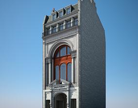 3D model Old Building XXI