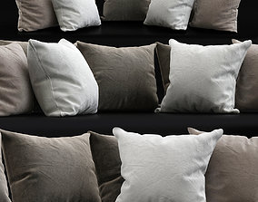 Pillows Collections 3d model low-poly