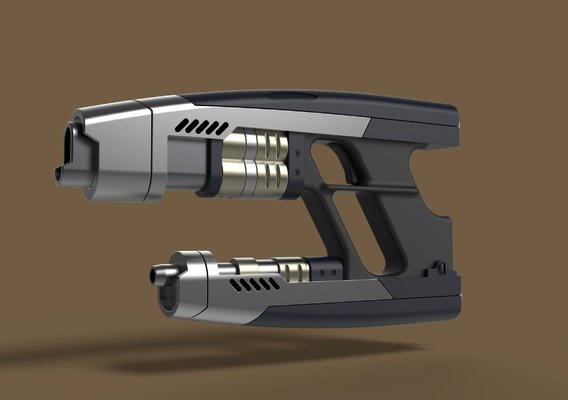 Star-Lord Blaster from Guardians of the Galaxy 2