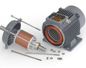 3D Electric Motor-Generator