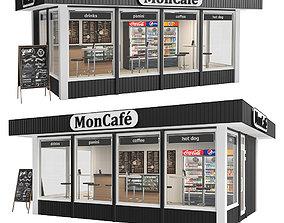 3D model MonCafe