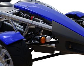 3D model drift Racing Car