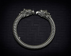 3D print model eagle bracelet