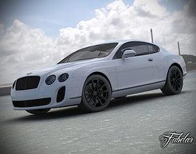 Bentley Continental SS Std Mat 3D Model rigged
