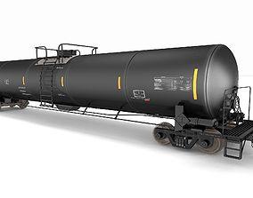Oil Tanker Car 3D model