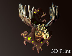 3D print model elk spirit of the forest design