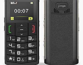 Jinga JM100 3D asset low-poly