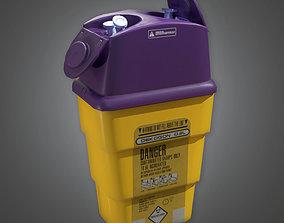 HPL - Medical Needle Deposit PBR Game Ready 3D model