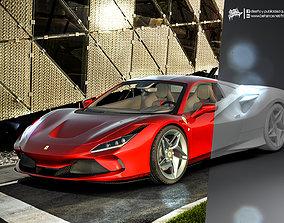 3D model Ferrari F8 Tributo formula1