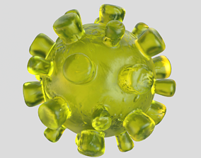 Coronavirus body 3D