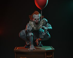 Pennywise statue 3D printable model