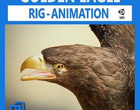 Golden Eagle v3 - Unity 3D asset