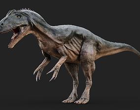 3D model realtime Allosaurus