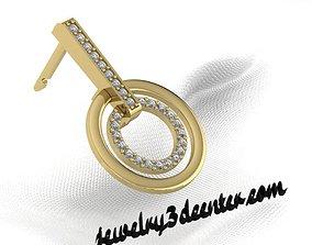 earrings ER 15 3D print model