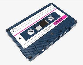 3D model Cassette music tape