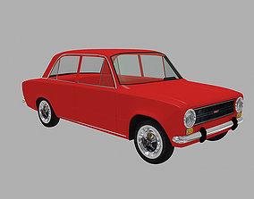 3D model Murat 124 - Fiat 124