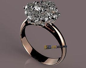 Cestino Diamanti - diamond-ring 3D printable model