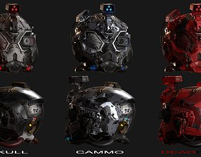 knight Helmet 3D