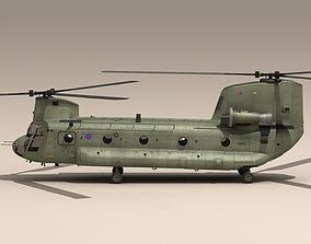 CH-47 RAF 3D