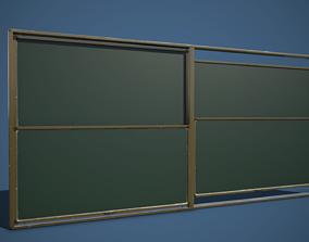3D model Green Chalkboard