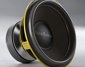 massive loudspeaker 5000w Ground Zero GZPW 18SPL 3D model