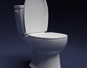 3D Toilet bathtub