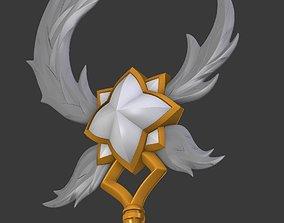 Star Guardian Soraka Staff League of Legends LOL 3D print
