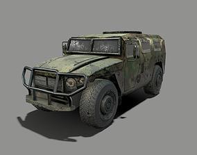3D asset Soldiere Vehicle