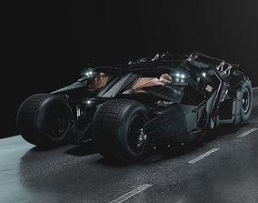 Batmobile Tumbler 3D model batmobile