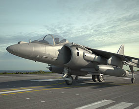 McDonnell Douglas AV-8B Harrier II 3D model
