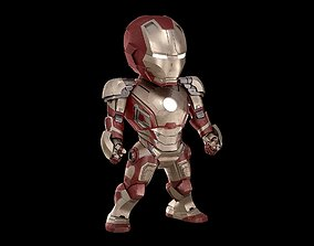 BABY IRON MAN Mk 42 mark 42 Avengers model SD rigged