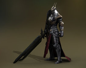 Fantasy Warrior 1 Player 3D asset