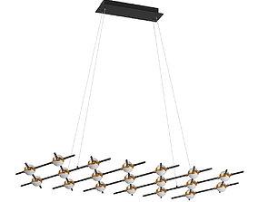 3D model 745347 Bergamo Lightstar Pendant chandelier