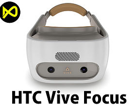 HTC Vive Focus White Headset 3D