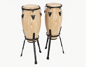 3D model Conga 10 and 11 inches set