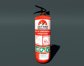 FIRE EXTINGUISHER 3D brigade