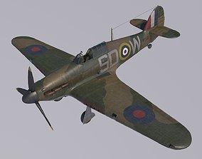 3D Hawker Hurricane MkI