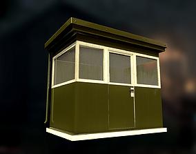 3D model Security cabin