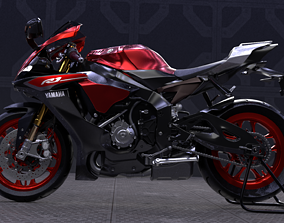 3D Yamaha R1 2015 Motorcycle