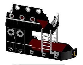 Bunk Bed 3D model furniture